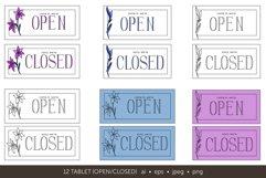 Minimalistic logo set. Logo templates. Schedule. Product Image 10