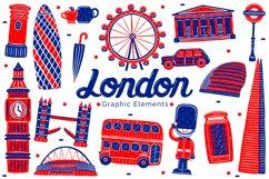 London Landmark Graphic Elements Product Image 1