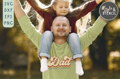Dad SVG | Fathers Day | Retro Product Image 6