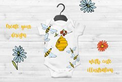 Vector Bees and Honey! Product Image 4