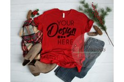 Winter Mockup Bundle Bella Canvas Mockup Bundle T Shirt Flay Product Image 5