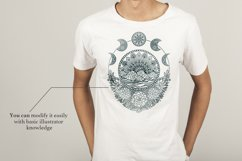 Hand Drawn Mandala & Floral Zentangle Collection Product Image 6