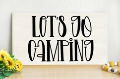 Web Font Spring Life - A Quirky Handlettered Font Product Image 4