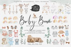Baby Boom watercolor collection Product Image 1