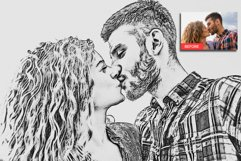 Pencil Sketch Photoshop Action Product Image 4
