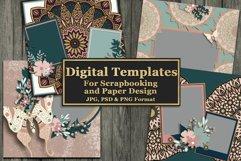 Mandala Magic Digital Templates Product Image 1