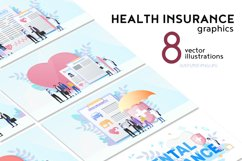Health Insurance Flat Collection Product Image 2