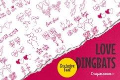 Web Font Love Dingbat Product Image 1