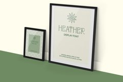 Heather - uppercase font Product Image 4