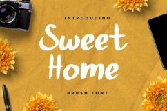 Web Font Sweet Home Product Image 2