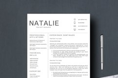 Resume Template CV Word Product Image 4