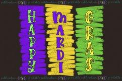 Happy Mardi Gras Sublimation Sublimate png printable design Product Image 2