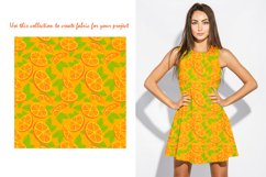 Orange juice patterns and frames Product Image 5