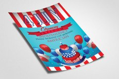 American Flag Day Celebration Flyer Product Image 2