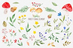 Wonder forest. Watercolor collection Product Image 3