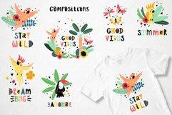 Tropical parrots set Product Image 2