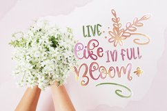 Blossomy - Font Duo Floral Doodles Product Image 5