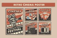 Retro Cinema Movie TV Show Poster Product Image 1