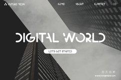 Madsense - Modern Futuristic Font Product Image 2