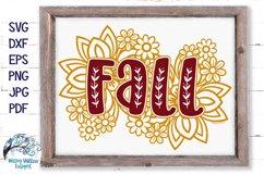 Floral Fall Bundle   Autumn Flower SVG Cut Files Product Image 6