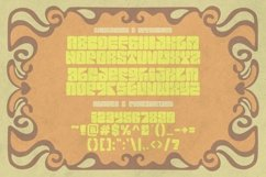 Euphoria Party - Psychedelic Style Font Product Image 3