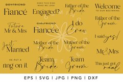 BEST SELLER Wedding SVG Bundle, Engagement SVG bundle Product Image 2