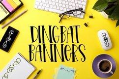 Web Font Elegant Scrolls - A Dingbat Font Product Image 1