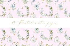 Pastel winter digital paper, seamless pattern Product Image 2