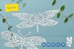 Dragonfly svg bundle, Svg Png Pdf Eps Dxf, Animal svg Product Image 3