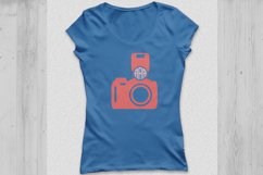 Camera svg, camera monogram Svg, photography svg, photograph Product Image 3