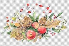 Autumn bouquet Watercolor png Product Image 2