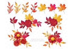 Fall Clipart, Autumn fashion Illustration Product Image 5