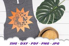 Mandala Butterfly Sun Celestial SVG DXF Cut Files Product Image 4