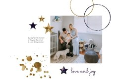 Stars and Moon Celestial Abstract Clipart Pack Product Image 4
