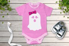 Halloween SVG, Ghost SVG, Cute Ghost SVG Cut Files, Spooky. Product Image 2