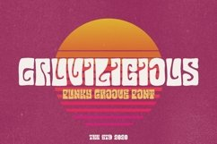 Gruvilicious - Groovy Font Product Image 1
