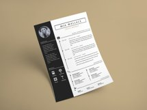 Elegant Minimalistic Resume Template With MS Word Product Image 5