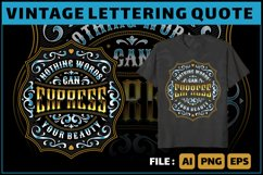 lettering quote for tshirt and more Product Image 1