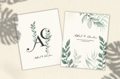 Watercolor & Gold Tropical Leaves Collection Product Image 2