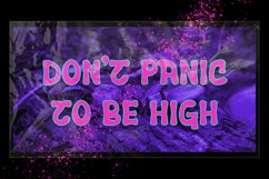 Ceuphoria - Psychedelic Font Product Image 6