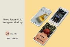 Phone Screen / UI / Instagram Mock-Up Product Image 1