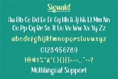 Sigwald - Handdrawn Fonts Product Image 4
