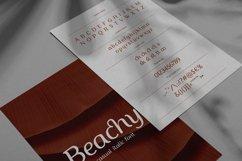 Beachy Italic Product Image 2