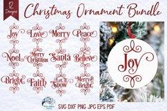 Mega Christmas Ornament SVG Bundle 6 | Round Christmas SVGs Product Image 2