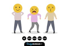 Emoji People Illustrations Product Image 1