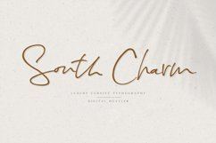 South Charm Font Product Image 1