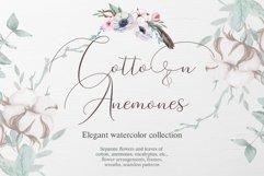Cotton & Anemones Watercolor Set Product Image 1