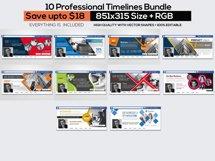 10 Business Facebook Timelines Bundle Product Image 1