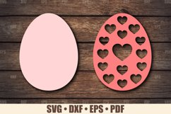 Easter Eggs SVG Bundle Glowforge Ready, SVG files for Cricut Product Image 4