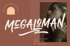 Megaloman Brush Marker Product Image 1